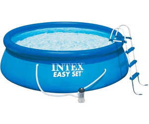 Intex easy pool set 457 x 122 cm ab 119 90 for Garten pool 457x122