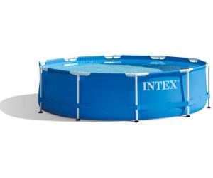 Intex metal frame pool 305 x 76 cm ab 75 18 for Frame pool obi