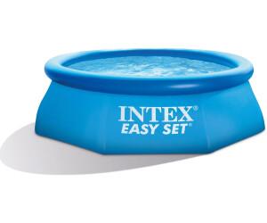 Intex easy set quick up pool 244 x 76 cm ab 19 90 for Pool 3m durchmesser aufblasbar