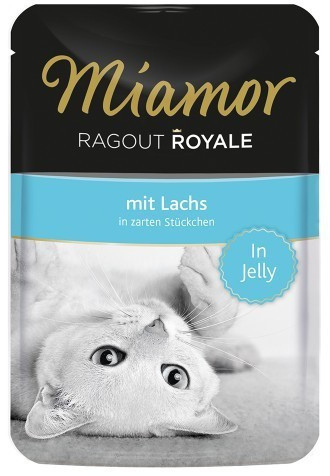 Miamor Ragout Royale Lachs (100 g)