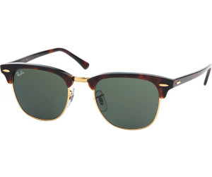 Ray Ban Clubmaster RB3016 W0366 (mock tortoise aristagreen