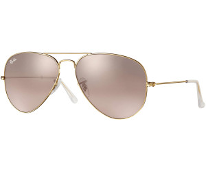 ray ban aviator gold rose