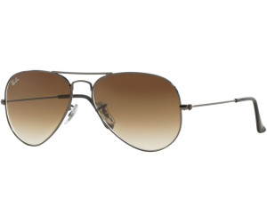 ray ban aviator degrade marron