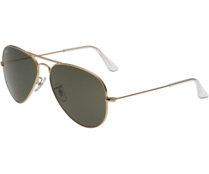 Ray Ban Aviator Metal Rb3025 L0205 Arista Crystal Green Ab 36 75