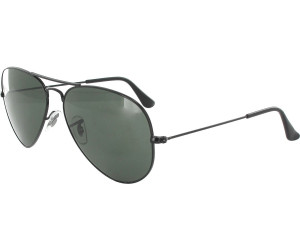 ray ban aviator gold grün 55