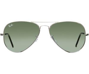 Ray Ban Aviator Sonnenbrille Silver Herren Silber