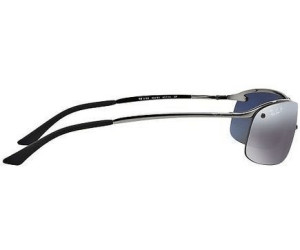Ray-Ban Top Bar RB3183 004/82 (gunmetal/polarized gradient ...