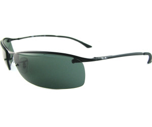 c45acd29608 Buy Ray-Ban Top Bar RB3183 006 71 (matte black grey green) from ...