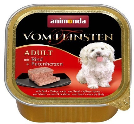 Animonda Vom Feinsten Classic Rind & Putenherze...
