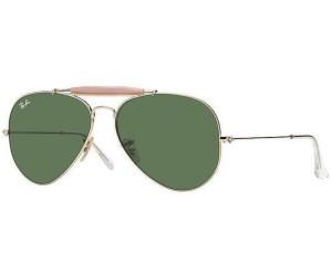 RAY BAN RAY-BAN Sonnenbrille »OUTDOORSMAN II RB3029«, goldfarben, 181/71 - gold/grau
