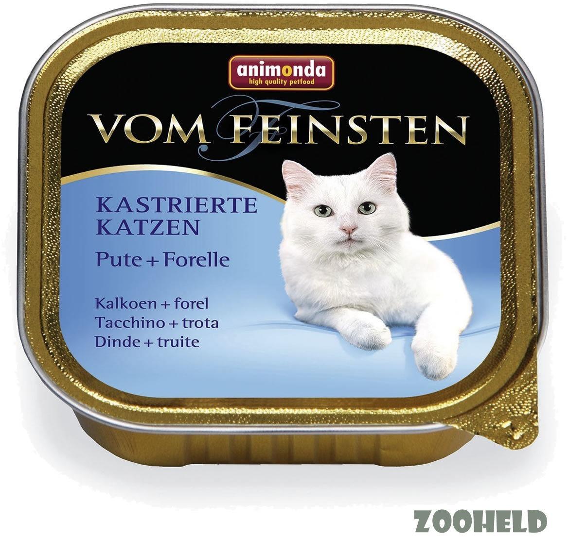 Animonda vom Feinsten kastrierte Katzen Pute+Fo...