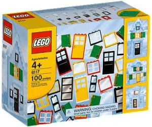lego steine co t ren und fenster 6117 ab 77 26 preisvergleich bei. Black Bedroom Furniture Sets. Home Design Ideas