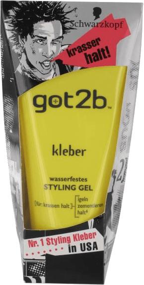 Schwarzkopf Got2Be Kleber Styling Gel (150ml)
