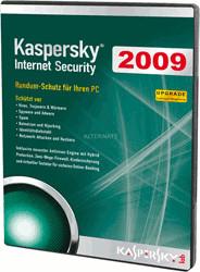 Image of Kaspersky Internet Security 2009 Upgrade (DE) (Win)