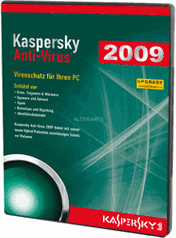 Image of Kaspersky Antivirus 2009 Update (DE) (Win)