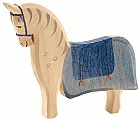 Ostheimer Pferd mit Sattel (41914)