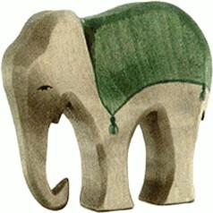Ostheimer Elefant mit Sattel