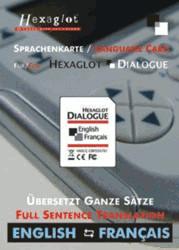 Hexaglot Sprachenkarte Englisch-Französisch