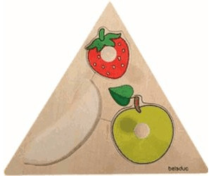 Image of beleduc Triangle Puzzle Fruits