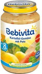 Bebivita Kartoffel-Gemüse mit Pute (220 g)