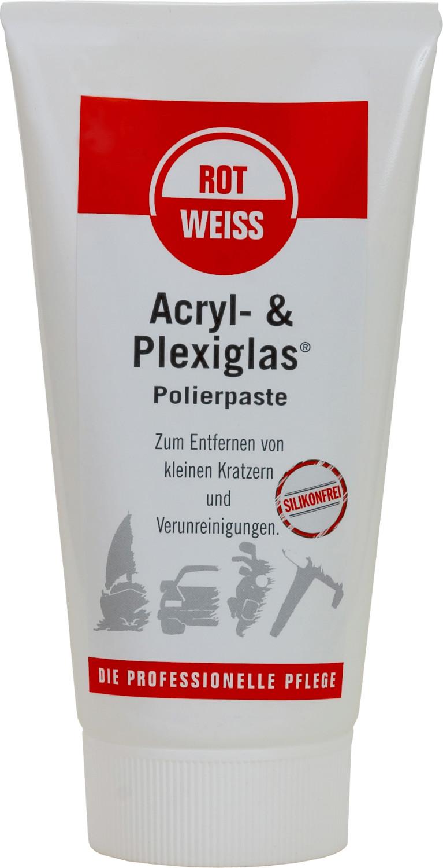 RotWeiss Acryl- & Plexiglas Polierpaste (150 ml)