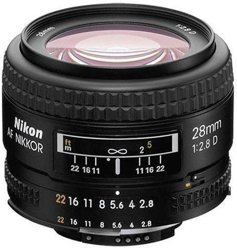 Nikon 28 mm f2.8D AF Nikkor