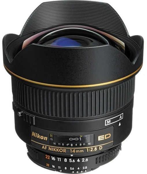 Nikon AF Nikkor 14mm f2.8 D ED