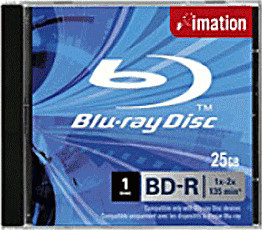 Image of Imation BD-RE 25GB 135min 2x 1pk Jewel Case