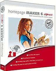 bhv Homepage Maker 6 Express (EN) (Win)