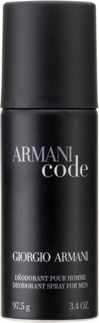 Giorgio Armani Code Homme Deodorant Spray (150 ml)