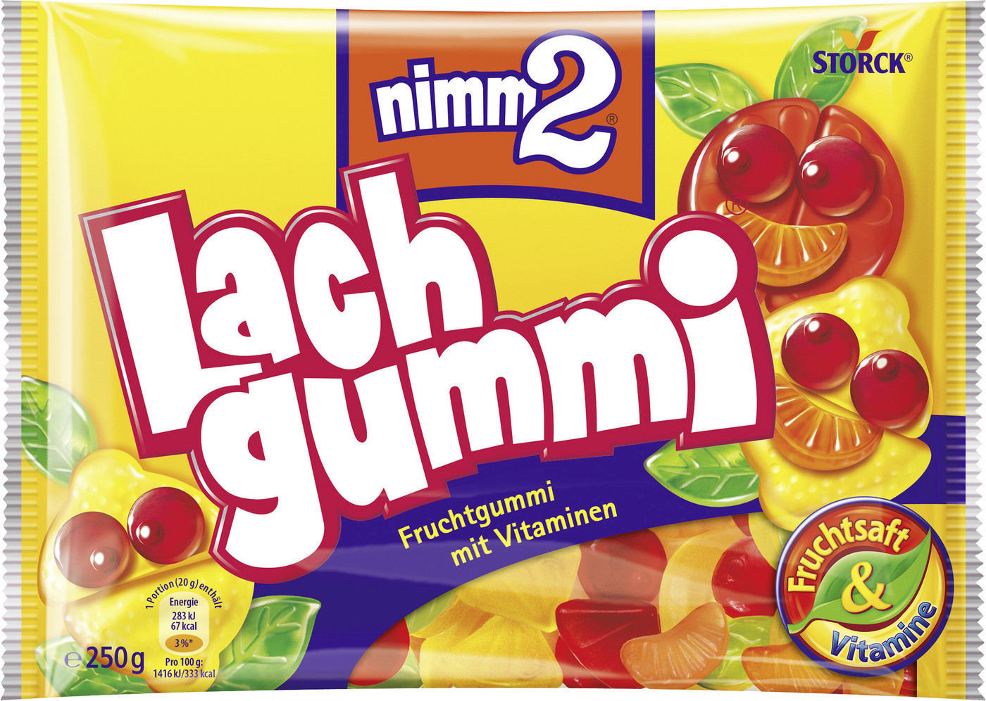 Nimm 2 Lachgummi (250 g)