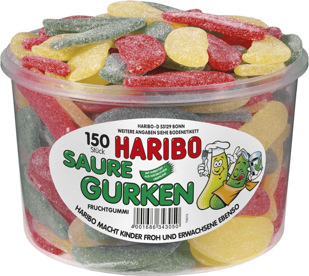 Haribo Saure Gurken (150 St.)