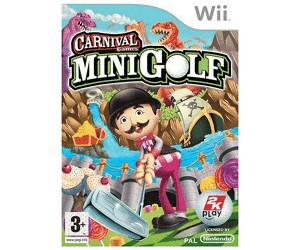 Carnival Games Mini Golf Wii Au Meilleur Prix Sur Idealofr