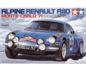tamiya alpine renault a110 monte carlo 1971 24278 au meilleur prix sur. Black Bedroom Furniture Sets. Home Design Ideas