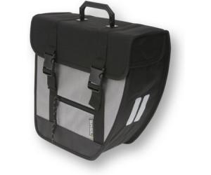 BASIL Seitentasche TOUR SINGLE rechts 33 cm x 14 cm x 33 cm schwarz silber
