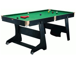 BCE Rock Solid 6ft Snooker & Pool Table (Rolling Folding Leg)