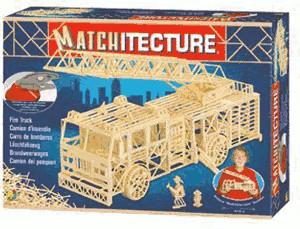 Bojeux Matchitecture - Fire truck (6615)