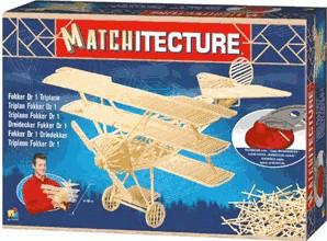 Bojeux Matchitecture - Triplane Fokker Dr 1 (6610)