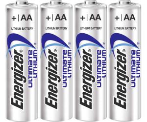 energizer ultimate lithium aa mignon fr6 batterie 1 5v 3000 mah 4 st ab 6 76. Black Bedroom Furniture Sets. Home Design Ideas