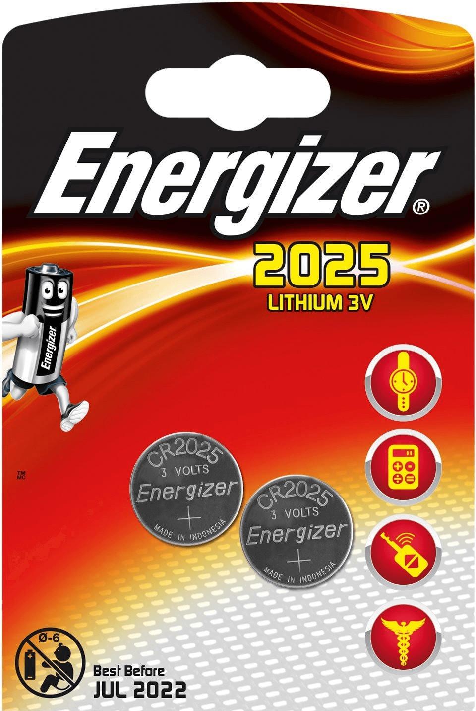 Image of Energizer 2x CR2025
