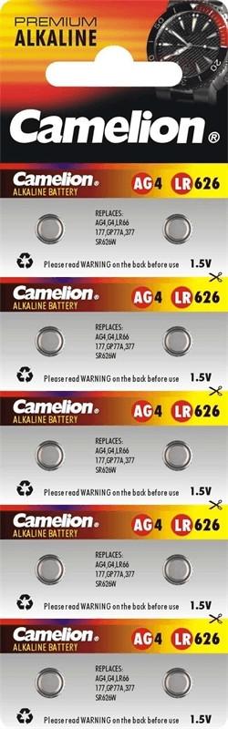 Image of Camelion 10x AG4/LR626