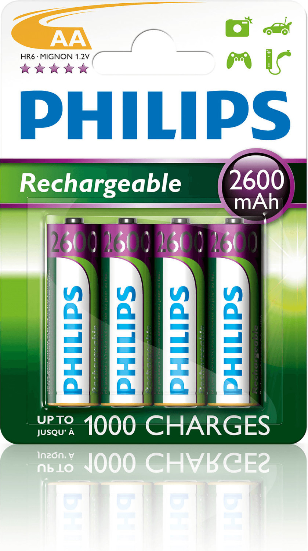Philips AA / HR6 MultiLife 2600mAh (4 St.)