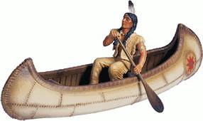 Schleich Kanu mit Figur (42013)