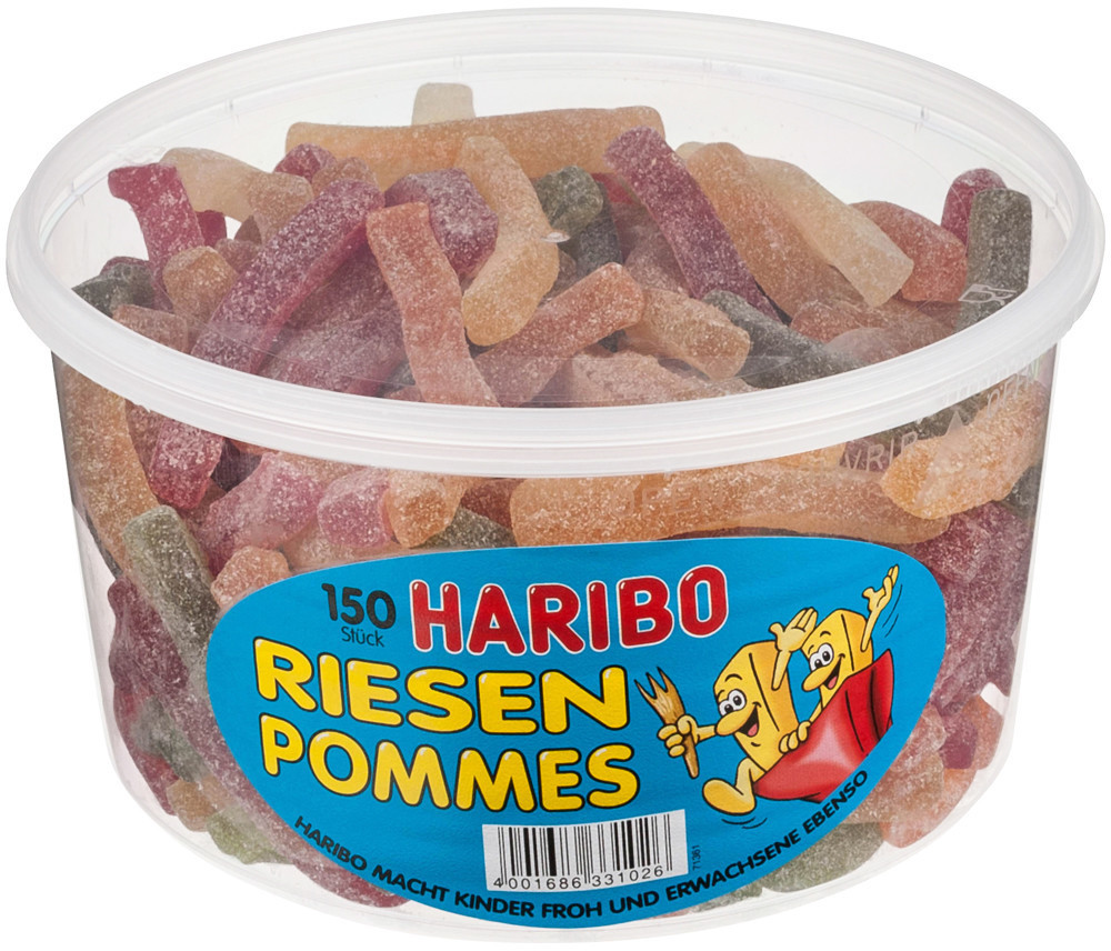 Haribo Riesen Pommes (1200 g)