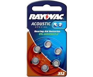Rayovac Acoustic Special 312 Zink Luft Batterie 1 4v 160 Mah 6 St Ab 1 55 Preisvergleich Bei Idealo De