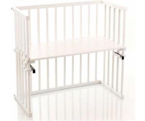 babybay beistellbett midi seidenmatt wei 120102 ab 118 85 preisvergleich bei. Black Bedroom Furniture Sets. Home Design Ideas