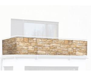wenko balkon fotosichtschutz 500 x 85 cm ab 16 99. Black Bedroom Furniture Sets. Home Design Ideas