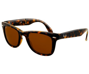 c769edfbc07 Buy Ray-Ban Wayfarer Folding RB4105 710 (light havana brown) from ...