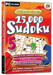 Ultimate Games: 25000 Sudoku (PC)