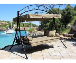 grasekamp nostalgie hollywood schaukel 3 sitzer ab 367 99 preisvergleich bei. Black Bedroom Furniture Sets. Home Design Ideas
